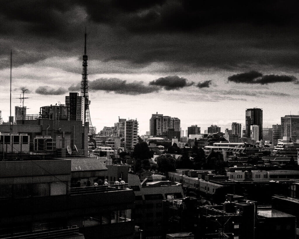 The view from my old office in Roppongi, Tokyo
